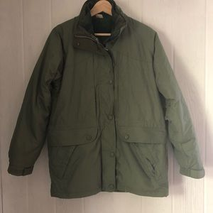 2 in 1 Winter Coat Northern Reflections Green S